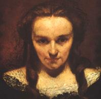la somnanbule de Gustave Courbet